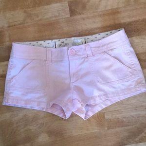 Hollister light pink short shorts size5